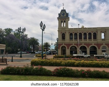 Forbes NSW Australia town centre and post office August 2017