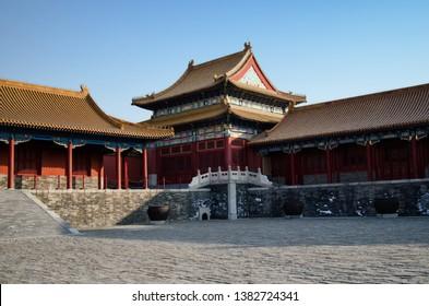 Forbidden City. Beijing. The capital of China.