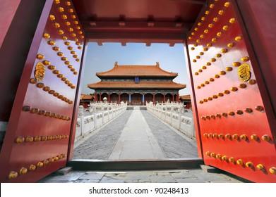 Forbidden city in Beijing , China