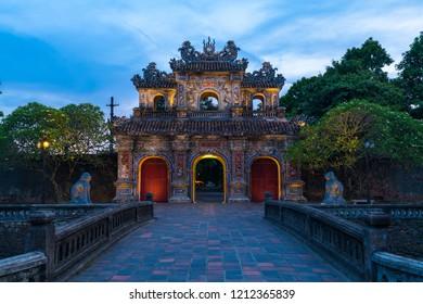 the forbidden city of hue vietnam