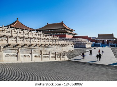 The Forbidden City (Palace museum), the Chinese imperial palace from the Ming dynasty to the end of the Qing dynasty (1420 to 1912).