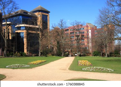 Forbury Gardens in Reading, Berkshire, England