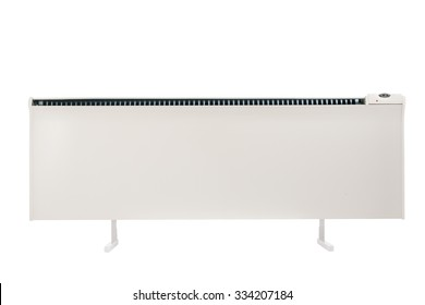 Forced convection heater isolated on white background with clipping path