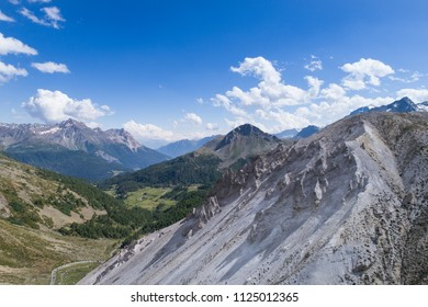 """Forcola Pass, """"i gessi"""", mountain view"""