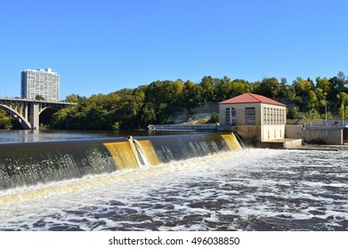 Ford Dam in Minneapolis Minnesota