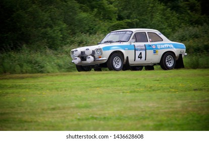 Ford Escort Mk1 rally car racing - Newport, Wales - 16/06/2019