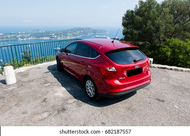 Ford Focus, France French riviera 2017