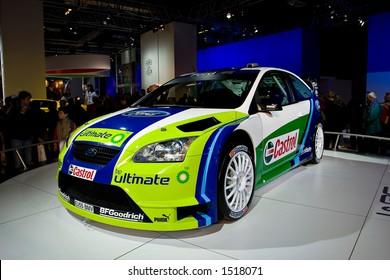 Ford Focus WRC at Motorshow Bologna 2005