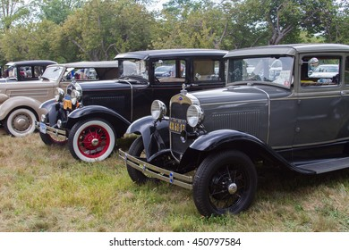 Ford Historical Car at Sagamore Hill National Historic Site in September 13th 2015