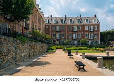 Ford's Landing Park, in Alexandria, Virginia