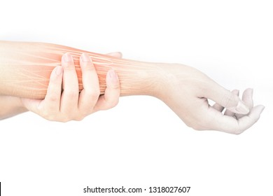 forearm muscle pain