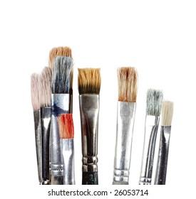 Foreground brush used