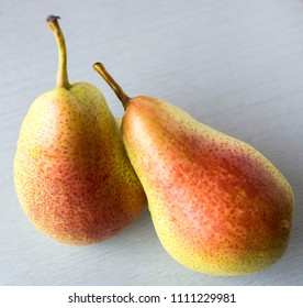 Forelle pear is a variety of pear originated in Germany, oblong and bell shaped and highly coloured.