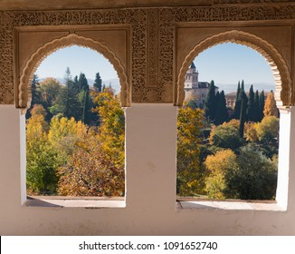 Forest at my Window. A view from the Alhambra, Granada