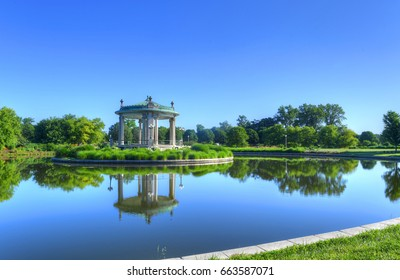The Forest Park bandstand in St. Louis, Missouri.