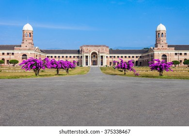 The Forest Research Institute is an institute of the Indian Council of Forestry Research and Education. It is located at Dehradun in Uttarakhand, India.