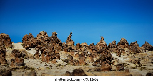 forest stone imata peru, rock on sky, figures of rocks