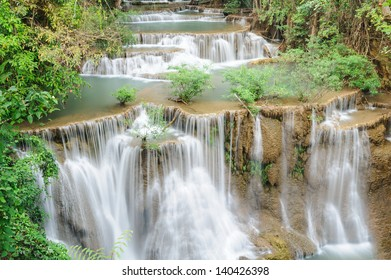 Forest Stream and Waterfall  in thailand ??