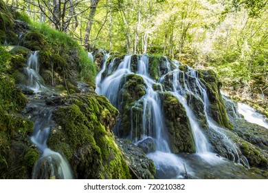 A forest waterfall to feast your eyes upon