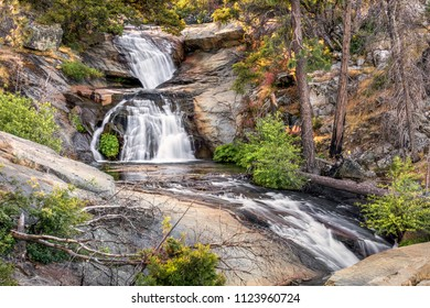 Foresta Falls is an overlooked series of cascading waterfalls on Crane Creek near Foresta in Yosemite National Park, Mariposa County, California.