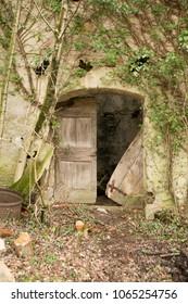 forgotten village in goriška brda, slovenia