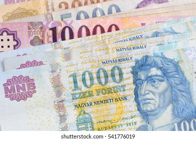 Forint. Hungarian currency.
