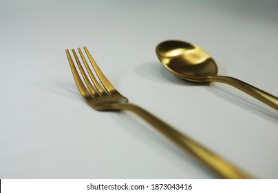 Fork and spoon, cutlery set, spork