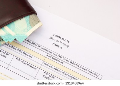 Form 16 a certificate an employer issues to employee when TDS is deducted by employer.