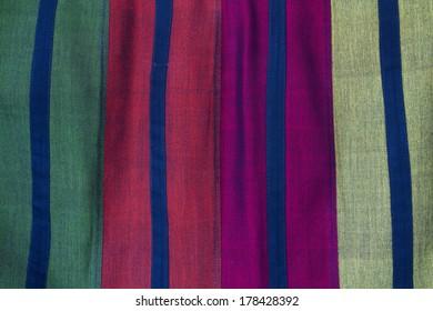 Form of handmade fabric,style Thailand