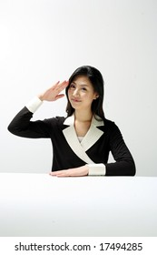Formal Dress Asian Woman