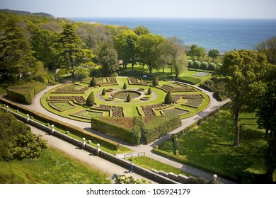 Formal gardens,  Dunrobin Castle