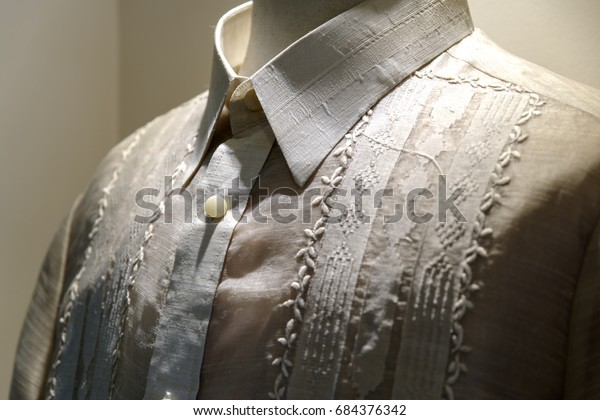 38a666a949c Formal Shirt National Dress Philippines Barong Stock Photo (Edit Now ...