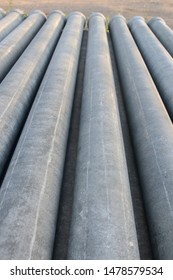Format asbestos piping.  Asbestos pipe used to put the sewage system.