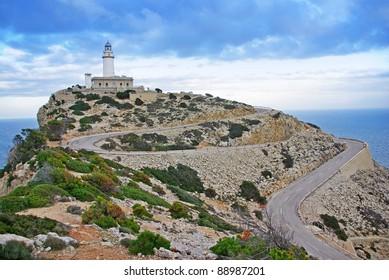 Formentor Lighthouse in Majorca (Spain)