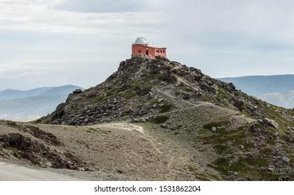 Former astronomical observatory in Sierra Nevada, Spain.