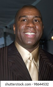 Former basketball star EARVIN MAGIC JOHNSON at the 15th Annual Soul Train Music Awards in Los Angeles. 28FEB2001.   Paul Smith/Featureflash