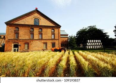 Former beer Factory in Hokkaido.