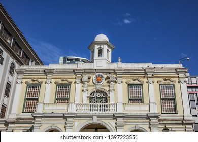 Former City Hall (Iziko Old Town House) building was built in 1755 in Cape Rococo style. Iziko Old Town House housed a collection of Dutch Golden Age works. Cape Town, South Africa.