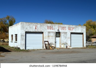 former firehouse in Tierra Amarilla New Mexico