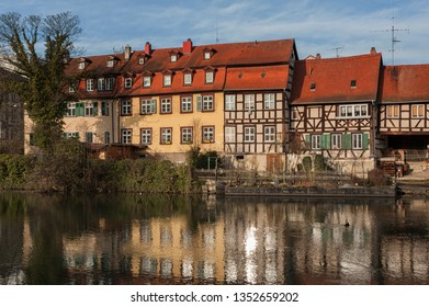 The former fishermen's district in Bamberg's Island City is known as Little Venice (Kleinvenedig)  Bamberg, Baviera - Germany