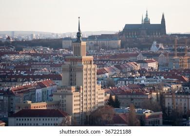 Former hotel International in Prague.
