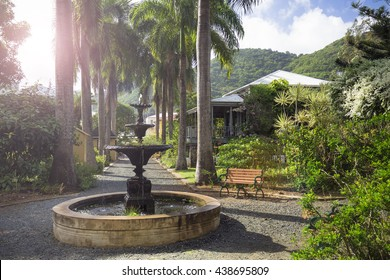 Former house of the planter in Road Town, Tortola, British Virgin Islands