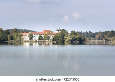 The former monastery Seeon in Bavaria, Germany