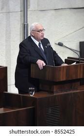Former prime minister of Israel Ariel Sharon.