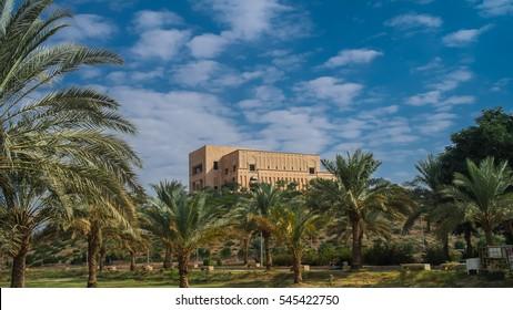Former Saddam Hussein Palace ruins, Babylon, Iraq