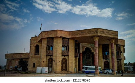 Former Saddam Hussein Palace,now museum , - 05 november 2011 Basra, Iraq