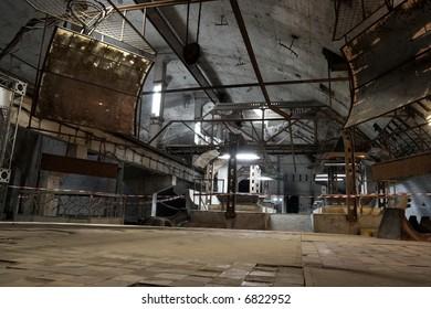 Former soviet underground submarine base in Balaklava