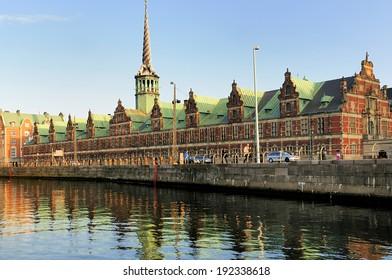 Former stock exchange building - Copenhagen, Denmark