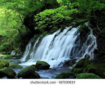 Former subsoil water falls