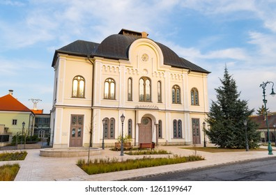Former Synagogue of Tokaj in the sunset
